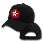 Texaco Star Emblem On Big Black Adjustable
