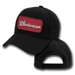 Big Budweiser Logo On Black Adjustable