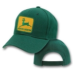 Big John Deere Logo On Green Adjustable