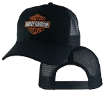 Harley Davidson On Black Mesh