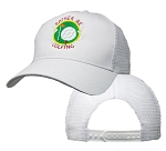 Big Size Rather Be Golfing on White Mesh Cap