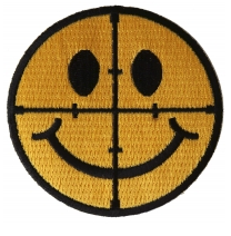 Sniper Scope Smiley Emblem