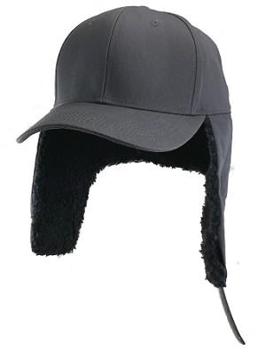 4XL Gray EarFlap Baseball Cap 62c9e390f23