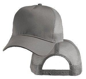 Big Gray Mesh Cap