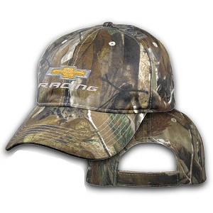 Big Chevy Racing On Camo Hat