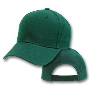 Big Size Green Adjustable Cap
