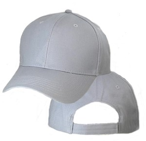 Big Size Gray Adjustable Cap