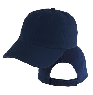 Big Size Navy Low Profile Cap