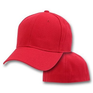Big Size 4XL Red FlexFit® Cap