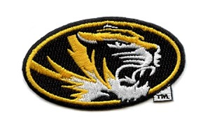 Missouri Tiger Oval Emblem
