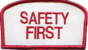 Safety First Emblem