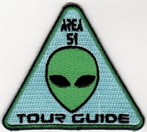 Embroidered Area 51 Tour Guide Patch