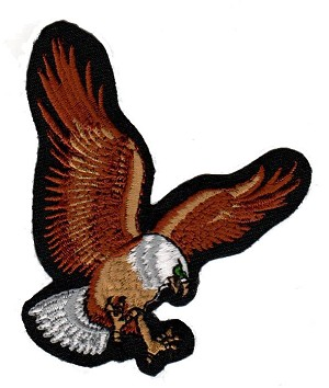 Embroidered Eagle Emblem