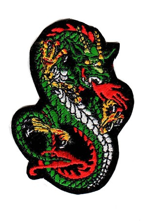 Embroidered Dragon Emblem