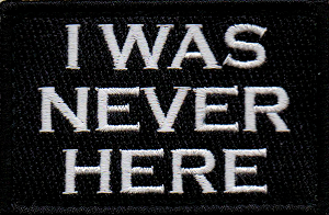 Tactical Never Here Patch