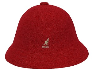 Big Size Red Bermuda Casual Kangol