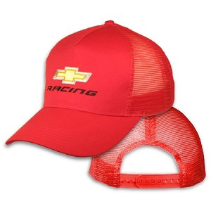 Big Chevy Racing On Red Mesh Cap